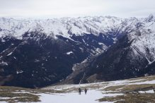 Sui monti intorno al Brennero